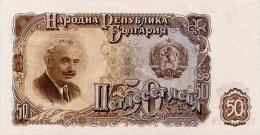 Bulgaria 50 Leva 1951 Pick 85 UNC - Bulgaria