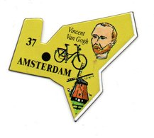 Magnet Publicitaire Amsterdam Pays-bas - Magnets