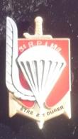 IC47 Broche Insigne Armee Terre 3e RIPMA Régiment Parachutistes D'infanterie De Marine Carcassonne Signé ARTHUS BERTRAND - Armée De Terre