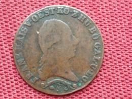 AUTRICHE Monnaie De 1 Kreuzer 1817 - Autriche