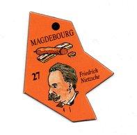 Magnet Publicitaire Allemagne Magdebourg - Magnets