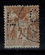Perforé - Sage YV 105 Perfore CL , Piquage Décalé L à Gauche, C à Droite - Perforés