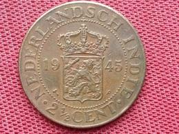 PAYS BAS Monnaie Colonies INDE 1945 Superbe état - [ 4] Colonies
