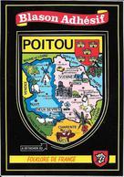 POITOU- BLASON- ECUSSON - HERALDIQUE - France