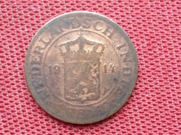PAYS BAS Monnaie Colonies INDE 1914 - [ 4] Colonies