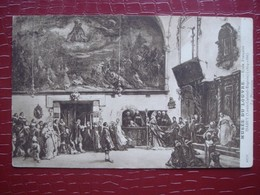 Musée Du Louvre - Ecole Française . ISABEY - La Procession - Museos
