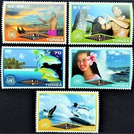 # Tonga 1999**Mi.1622-26  International Year Of Ecotourism , MNH [21;123] - Vacanze & Turismo