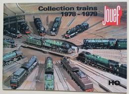 1978 1979 Catalogue JOUEF Collection Trains HO Train électrique Accessoires - Books And Magazines
