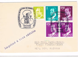 Spanien - Spain - Sonderstempel Pontevedra - Fahrrad, Bycicle, Bicicleta - 1991-00 Briefe U. Dokumente