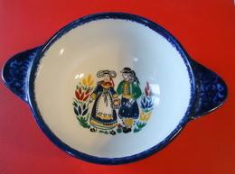 Céramique De Quimper Cornouaille - Bol Prénommé CHIARA (Claire En Italien) - Diamètre 12.50 Cm - Poids 350 Grammes - Tasses