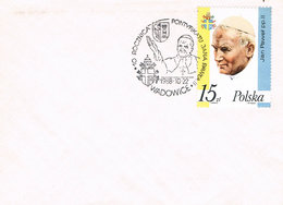 Polen Sonderstempel Aus Wadowice - Geburtsort Von Papst Johannes Paul II - Pope - 1944-.... Republik