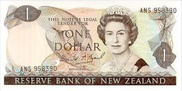 New Zealand 1 Dollar  1989-91 Pick 169c UNC - New Zealand