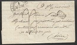 1833 - Chalon-sur-Saône - MARINE ROYALE - PERMIS DE DISPOSER DES BOIS ( CONSTUCTION NAVALES ) - 1801-1848: Précurseurs XIX