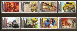 Gibraltar 2015 Micheln° 1661-1668 *** MNH Fire Service Pompiers Feuerwehr - Gibraltar
