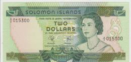 Solomon Islands 2 Dollars 1977 Pick 5 UNC - Salomons
