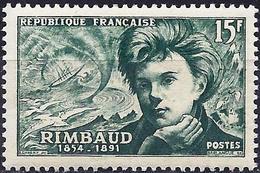 France 1951 - Arthur Rimbaud, French Poet ( Mi 928 - YT 910 ) MNH** - France