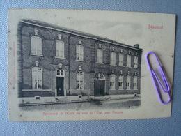 BEAUMONT : Pensionnat De L'école Moyenne De L'état Pour Garçons Avant 1906 - Beaumont