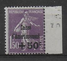 1930 - YVERT N° 268 ** - LUXE SANS CHARNIERE  - COTE = 200 EUR. - SEMEUSE CAISSE D'AMORTISSEMENT - Sinking Fund