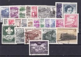 Österreich, Kpl. Jahrgang 1962, Gest. (T 9339) - Ganze Jahrgänge