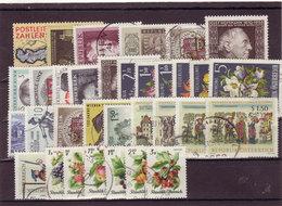 Österreich, Kpl. Jahrgang 1966, Gest. (T 9342) - Ganze Jahrgänge