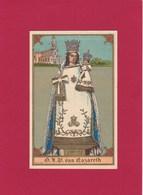 Devotieprent O.L.Vrouw Van Nazareth - Religion & Esotericism