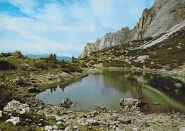DOLOMITI - LAGO LAGAZUOI - TIMBRO RIFUGIO SCOTONI - NUOVA - Alpinisme