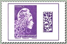 Marianne L'Engagée Internationale 2019 Issue De Carnet - 2018-... Marianne L'Engagée