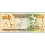 TWN - DOMINICAN REPUBLIC 169d - 20 Pesos Oro 2004 Prefix MB - Signatures: Albizu & Bengoa UNC - Repubblica Dominicana