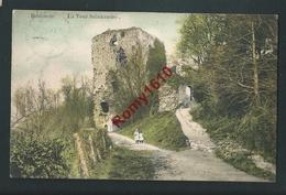 BEAUMONT. La Tour Salamandre. Petites Filles. Voyagée En 1908. 2 Scans. - Beaumont
