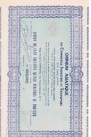 Action De Cent Soixante Quinze Piastres OMNIUM ASIATIQUE De Commerce - Me ARNOUX à HAIPHONG - 1947 - Asia