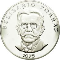 Monnaie, Panama, 5 Balboas, 1975, U.S. Mint, FDC, Argent, KM:40.1a - Panama