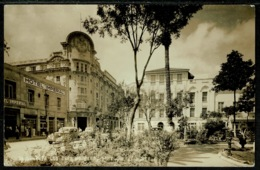 Ref 1244 - 1945 Censored Real Photo Postcard - Monterrey Mexico To USA - Cars & Hotel - Mexico