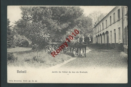 Beloeil.  Jardins De L'Hôtel Des Ducs Du Brabant. Attelage, Cochers. Nels Série 45, N°20. - Beloeil