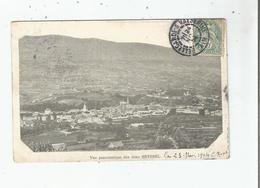 VUE PANORAMIQUE DES DEUX SEYSSEL (AIN ET HAUTE SAVOIE) 1904 - Seyssel