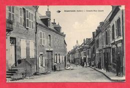 CPA INDRE 36  Aigurande  Grande Rue - France
