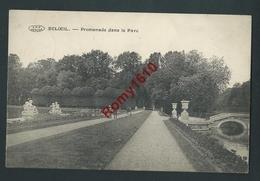 Beloeil.  Promenade Dans Le Parc. 1919.  2 Scans - Beloeil