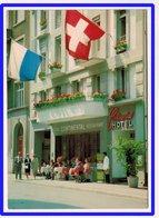 23120  CPM  LUZERN  : HOTEL CONTINENTAL , Jolie Carte !!  ! ACHAT DIRECT  !! - LU Lucerne
