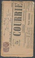 FRANCE - Journal Republicain Quotidien - COURRIER DE L'AIN 7 Février 1903 - France