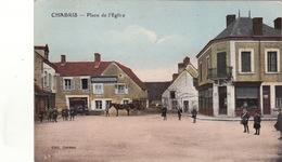 Chabris Place De L Eglise - France