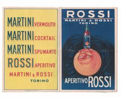 CALENDARIETTO  MARTINI & ROSSI 1927  SEMESTRINO - Calendriers