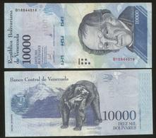 Venezuela 10000 Bolivares 2017 Pick NEW UNC - Venezuela