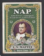 Etiquette  D'Apéritif Quinquina  -  Nap.  -  L.N. Mattei  à  Bastia  Corse (20) - Labels