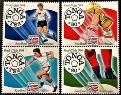 # Tonga 1994**Mi.1321- 24  Football World Cup, USA , MNH  [21;142] - World Cup