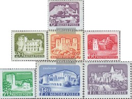 Hungary 1703A-1709A (complete.issue.) Unmounted Mint / Never Hinged 1960 Clear Brands - Hungary
