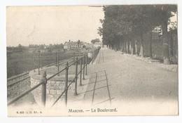 Marche Le Boulevard Carte Postale Ancienne - Marche-en-Famenne
