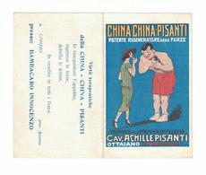 CALENDARIETTO  CHINA PISANTI  1927  SEMESTRINO - Calendari
