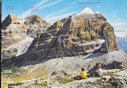 DOLOMITI - CORTINA - VIA FERRATA GIOVANNI LIPELLA - GRUPPO DELLE TOFANE - FOTO GHEDINA - NUOVA - Alpinisme