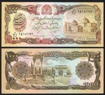 Afghanistan 1000 Afghanis 1991 Pick 61c UNC - Afghanistan