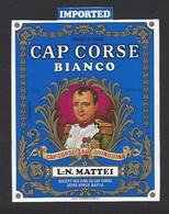 Etiquette De Cap Corse Bianco  Mattei  -  Sté Des Vins Du Cap Corse à Borgo Bastia  Corse (20) - Etiquettes