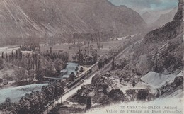 Ussat Les Bains Vallée De L'ariège Au Pont D'ornolac (train) - France